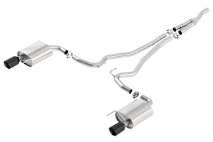 Ford Performance Sport Catback Mustang Exhaust-Black Tips (2015)