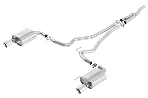 Ford Performance Touring Mustang EcoBoost Exhaust Chrome Tips (2015)