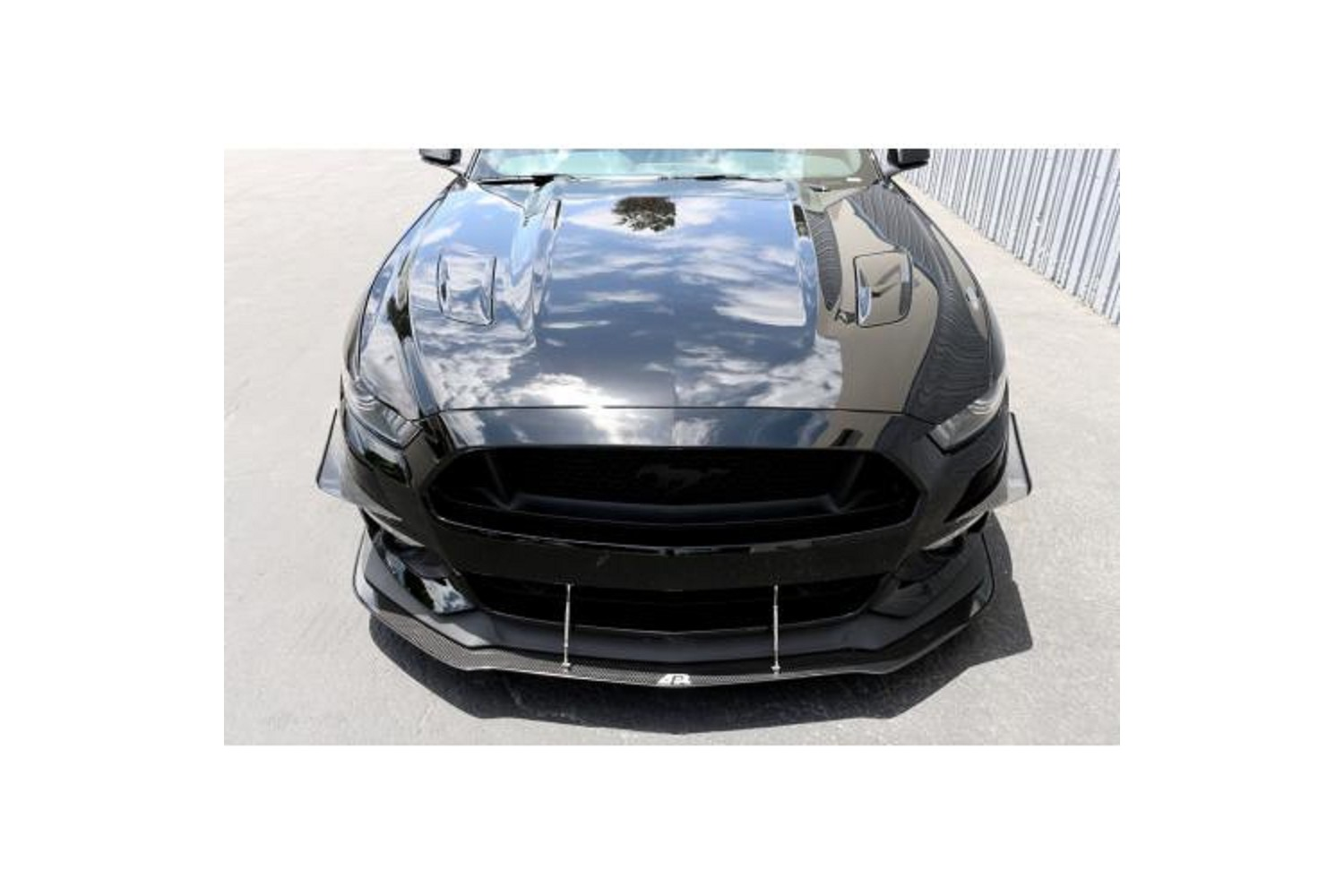 Ford Mustang Front Bumper Canards 2015