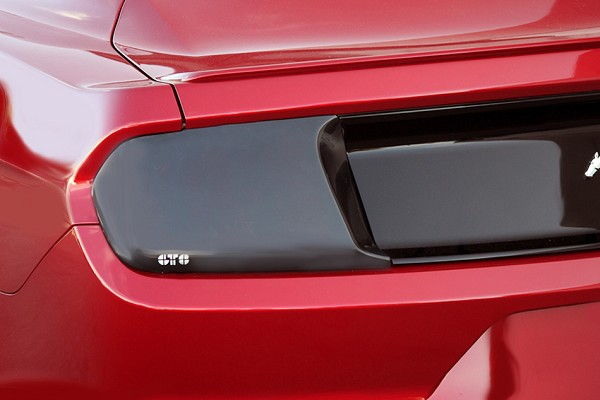 GTS S550 Mustang Smoked Tail Light Cover Pair (2015-2021)