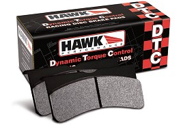 Hawk Performance MK3 Focus ST DTC-80  Race High Torque Front Brake Pads (2015-2018)