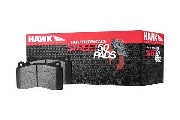 Hawk Performance HPS 5.0 Mustang Rear Brake Pads (05-14 V6/GT/GT500)