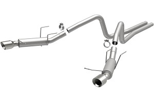 Magnaflow Mustang Competition Catback Exhaust - 4 in. Tips (13-14 V6)