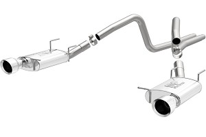 Magnaflow Mustang Street Catback Exhaust - 4.5 in. Tips (13-14 V6)