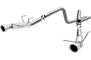 Magnaflow Mustang Competition Catback Exhaust - 4.5 in. Tips (13-14 V6)