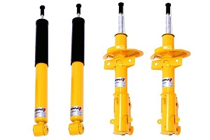 Koni Focus Adjustable Shock and Strut Pack (00-05 All)