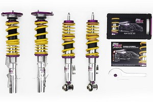 KW Suspension S550 Mustang Clubsport 2 Way Coilover Kit (15-19 GT/EcoBoost)