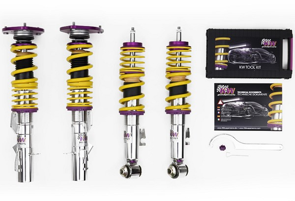 KW Suspension S550 Mustang Clubsport 2 Way Coilover Kit (2015-2020)