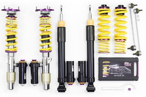 KW Suspension S550 Mustang Clubsport 3 Way Coilover Kit (15-17 GT/EcoBoost)