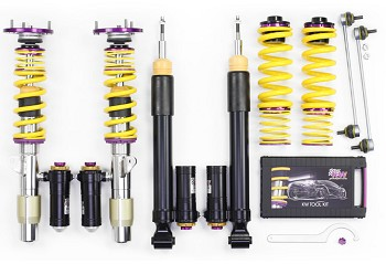 KW Suspension S550 Mustang Clubsport 3 Way Coilover Kit (15-19 GT/EcoBoost)