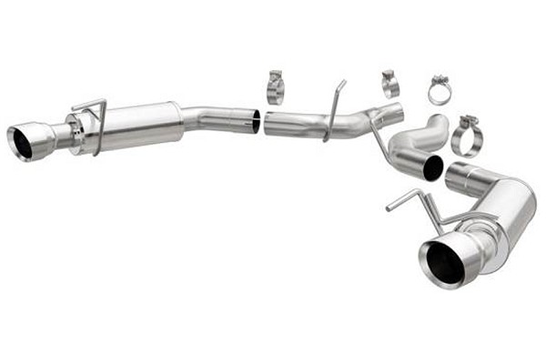 MagnaFlow Mustang GT Competition Series Axle-Back Exhaust (2015-2017)