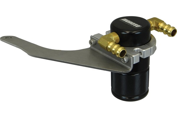 Moroso S550 Mustang GT Small Body Black Air Oil Separator (15-17 GT)