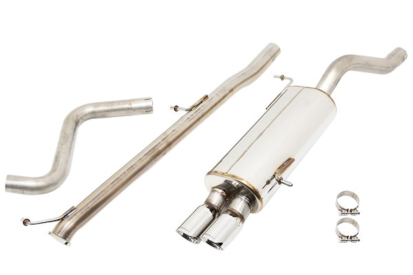 Ford Performance Mountune High Flow Cat-Back Exhaust System (14-18 ST)