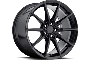 MRR Mustang M350 FlowForged Gloss Black Wheel 19x11 (15-17 All)