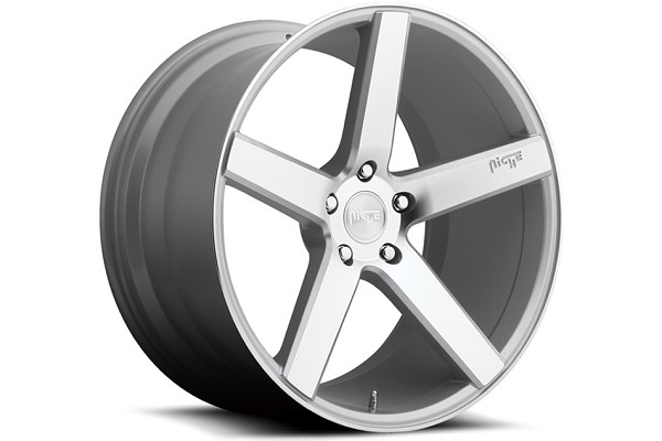 Niche Sport Milan Silver Machined Mustang Wheel 20x10 (05-20)