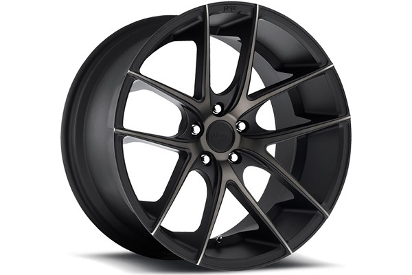 Niche Sport Targa Black Machined w/ Tint Mustang Wheel 19x9.5 (05-20)