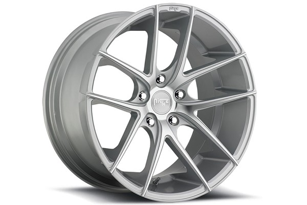 Niche Sport Targa Silver Machined Mustang Wheel 18x9.5 (05-20)