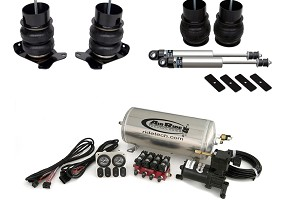 Ridetech Foxbody Mustang Level 1 Air Suspension System (79-93 All)