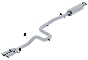 "MBRP Fiesta 3"" Pro Series Cat-Back Exhaust - Dual Outlet (14-15 ST)"