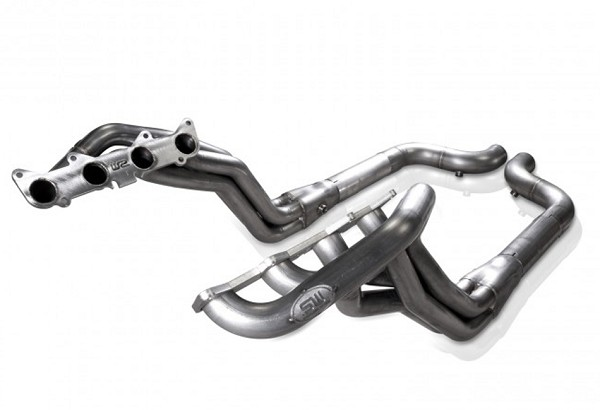 "Stainless Works Mustang GT 1-7/8"" Long Tube Off Road Headers PC (2015-2019)"