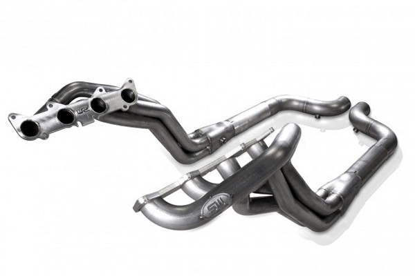 "Stainless Works Mustang GT 1-7/8"" Long Tube Off Road Headers PC (2015-2020)"