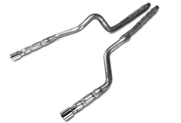 "Stainless Works Mustang GT/GT500 3"" Retro Chambered Cat-back Exhaust (11-14 GT/11-12 GT500)"