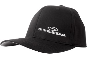 Steeda Black Flexfit Hat