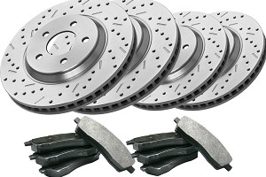Steeda/Xtreme Complete Front & Rear Brake Kit (11-14 GT)