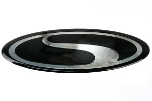 Steeda Focus Black Gel Emblem W/ Steeda Logo (12-14 All)