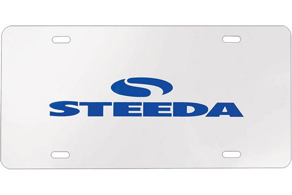 Steeda Chrome License Plate (2000-2019 All)