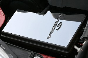 Steeda Focus Polished Stainless Fuse Box Cover Plate (12-18 All)