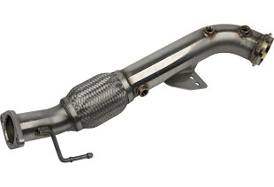 Downpipes; Exhaust; If you're getting used to your current setup, Steeda carries lots of different exhaust components for your Focus ST. From cat-backs, downpipes and exhaust accessories we make it easy to outfit your ride with a custom exhaust setup.