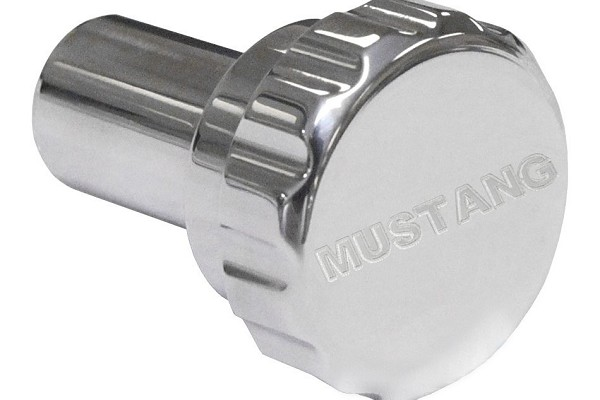 Steeda Mustang Head Light Knob - Machined/Mustang Logo (94-04) DISCONTINUED