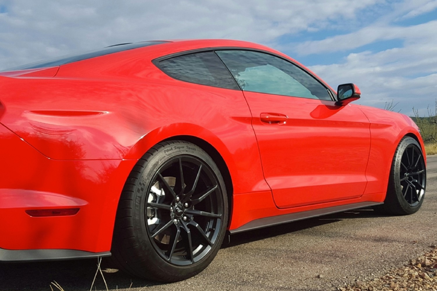 Steeda mustang ultralite lowering springs linear 2015 2019