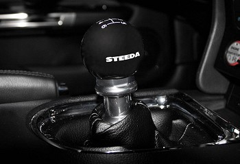 Steeda S550 Mustang 6-Speed Black Shift Knob (2015-2019)
