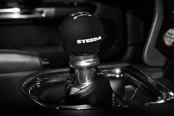 Steeda S550 Mustang 6-Speed Black Shift Knob (2015-2020)
