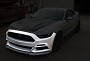 Steeda S550 Mustang Q-Series Front Fascia - Unpainted (15-17 All)