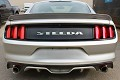 Steeda S550 Mustang Q-Series Rear Spoiler - Satin Black (2015-2017 Coupe)