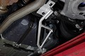 Steeda S550 Mustang Rear IRS Subframe Support Braces (2015-2019 Coupe)