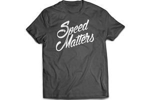 Steeda Speed Matters Script T-Shirt