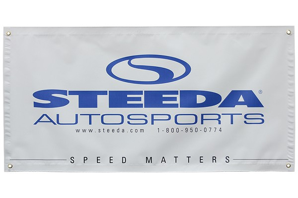 "Steeda 'Speed Matters' Banner (48"" x 24"")"