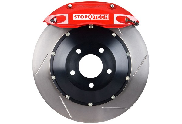 StopTech Fusion 2 Piece Rotor Front BBK Red (06-12)