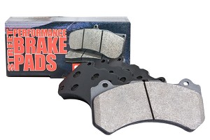 StopTech Fusion Street Performance Front Brake Pads (06-12)