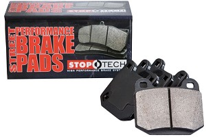 StopTech Fusion Street Performance Rear Brake Pads (06-12)