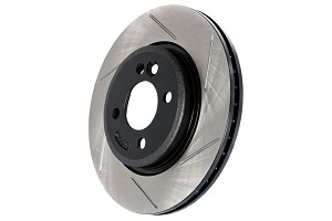 StopTech Slotted Mustang Front Rotors (05-10)