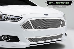 T-Rex Grilles Fusion Upper Class Series 3 Window Opening Stainless Steel Formed Mesh Grille (13-16 All)