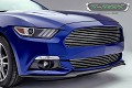 T-Rex Grilles S550 Mustang Billet Series Polished Aluminum Horizontal Grille (15-17 All)