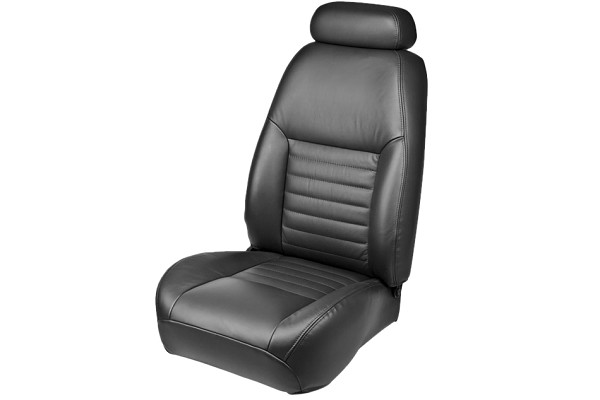 TMI Mustang Convertible Full Front & Rear Sport Leather Seat Upholstery Set (1999 GT)