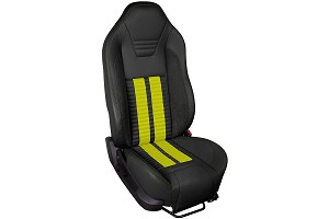 TMI Sport R500 Series Vinyl Mustang Screamin Yellow Airbag Seat Upolstery w/ Seat Foam (05-10)