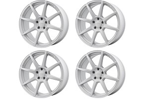 Velgen Wheels VMB8 Matte Silver Staggered Wheel Set - 20x9 and 20x10.5 (05-16)